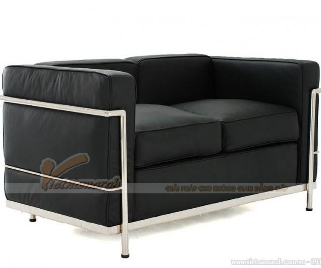 Mẫu ghế sofa da 2 chỗ tốt nhất hiện nay