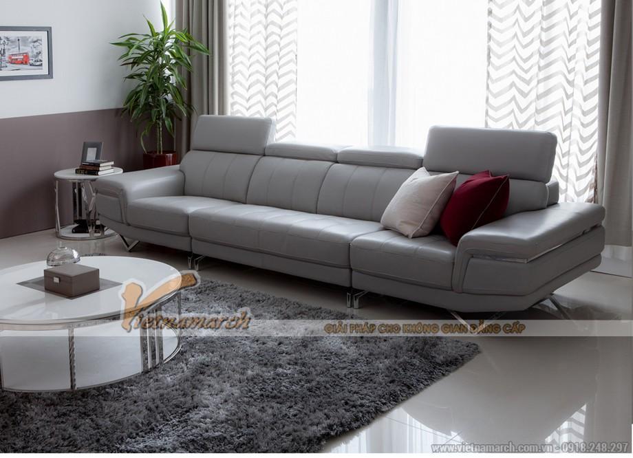 Gia đình anh Kiên vô cùng ưng ý với bộ ghế sofa Vietnamarch tư vấn