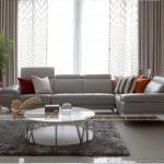 Mẫu sofa da góc đẹp kiểu dáng mới cho phòng khách thêm sang – Mã: SDG-017