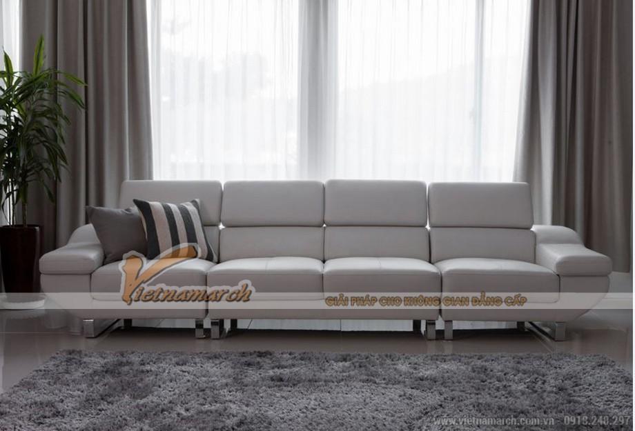 Có thể biến hóa trở thành ghế sofa văng hay sofa góc tùy nhu cầu
