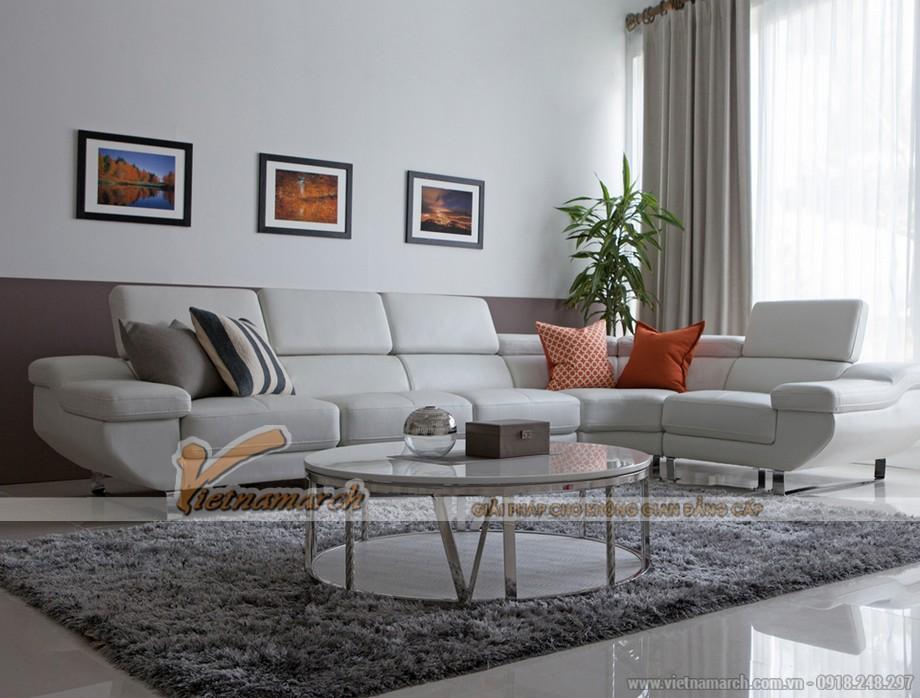 Mẫu sofa góc đẹp, màu sắc trẻ trung-02