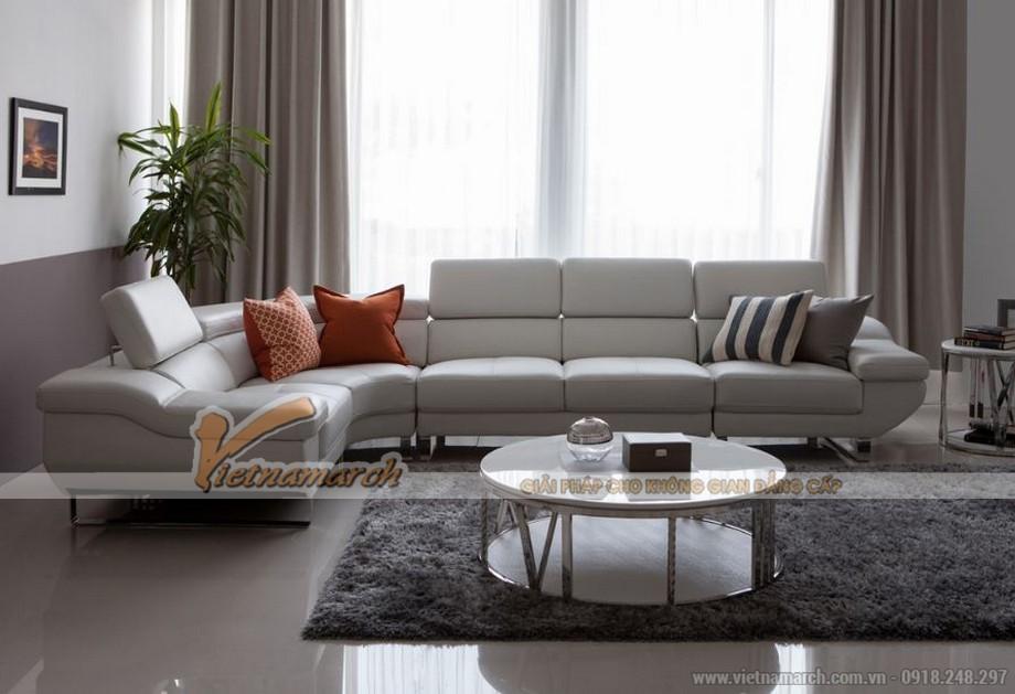 Mẫu sofa góc đẹp, màu sắc trẻ trung-03