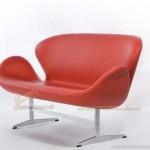 Mẫu ghế sofa da văng đơn xinh xắn cho không gian phòng khách – Mã: SDV-068