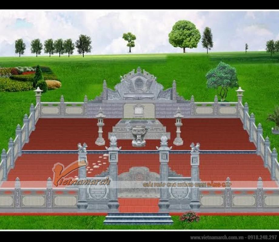 Nét đẹp tâm linh trong kiến trúc xây lăng mộ