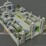Thiết kế phần mộ gia đình rộng gần 100m2 tại Nghệ An