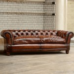 Ghế sofa văng cổ đi khung gỗ Sồi chất liệu da nhập khẩu Italia – Mã: SDV-083