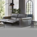 Mẫu ghế sofa da văng lôi cuốn, đệm mút có độ đàn hồi cực cao – Mã: SDV-081