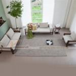 Mẫu ghế sofa gỗ hiện đại, tinh tế cho phòng khách – Mã: SGV-003