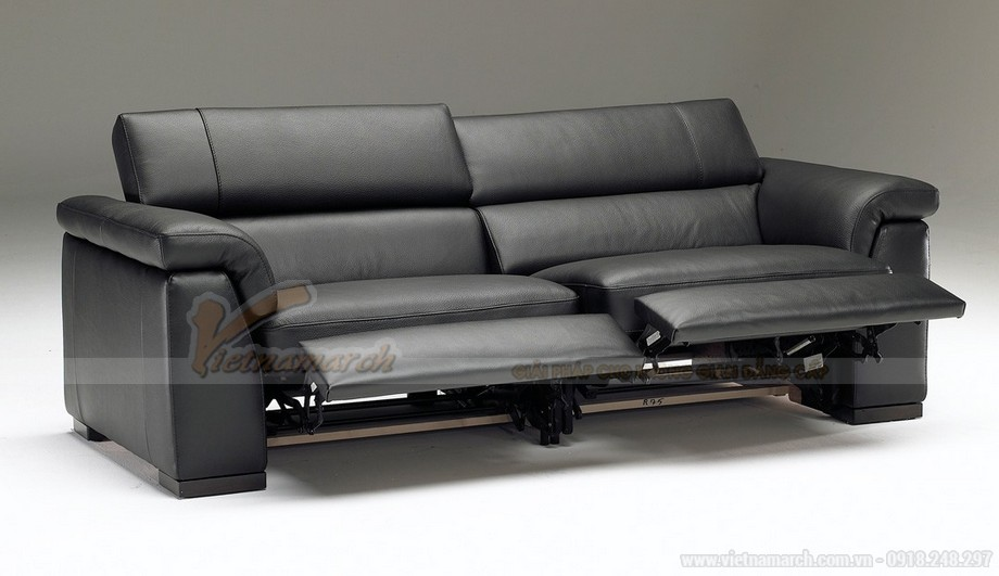 Bộ hai mẫu ghế sofa văng chất liệu da bò ấn tượng nhất năm 2016 - 04