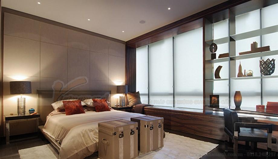 Phòng ngủ khoa học và thiết kế đẹp mắt