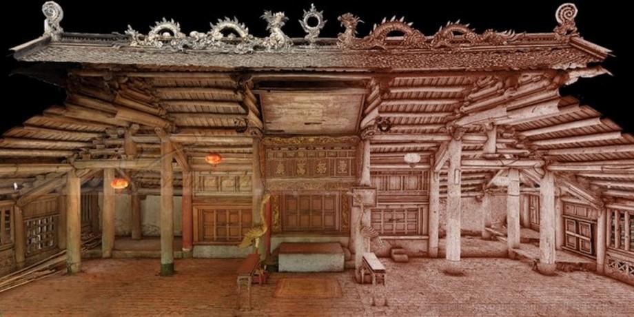 Kiến trúc cổ xưa của đình Tiền Lệ được thiết kế trang nghiêm và đẹp mắt