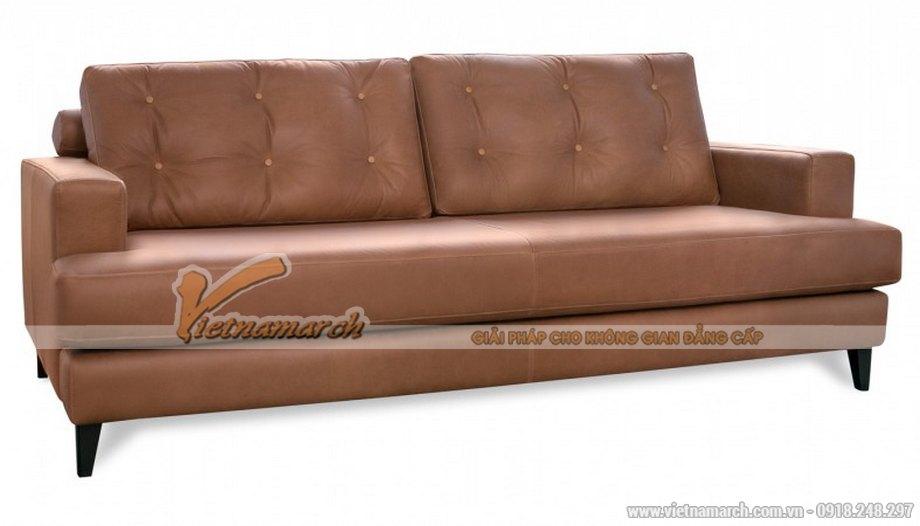 Mẫu ghế sofa da cao cấp nhập khẩu châu Âu - 01