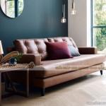 Mẫu ghế sofa văng bọc da cao cấp nhập khẩu châu Âu vô cùng bắt mắt – Mã: SDV-059