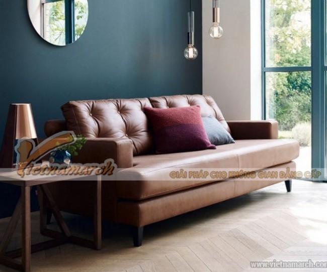 Mẫu ghế sofa da cao cấp của Anh Quốc