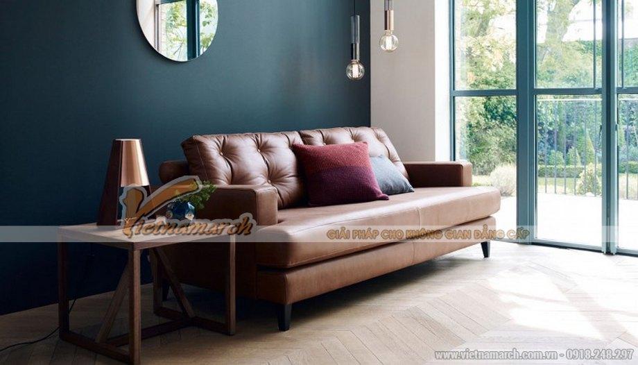 Mẫu ghế sofa da cao cấp nhập khẩu châu Âu - 02