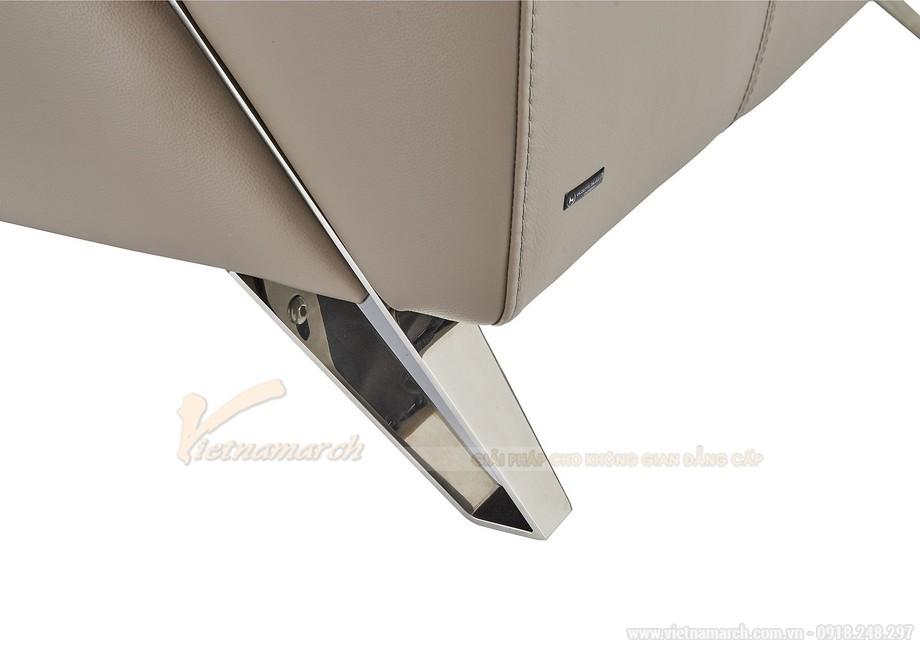 Ghế sofa góc chất liệu da nhập khẩu Đức - 06