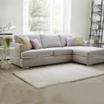 Chiêm ngưỡng 2 mẫu ghế sofa góc chất liệu vải nỉ cực mềm mại
