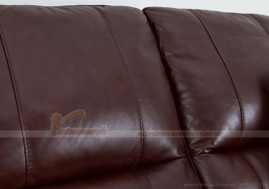 Ghế sofa văng chất liệu da 3 chỗ ngồi mới nhất - 03