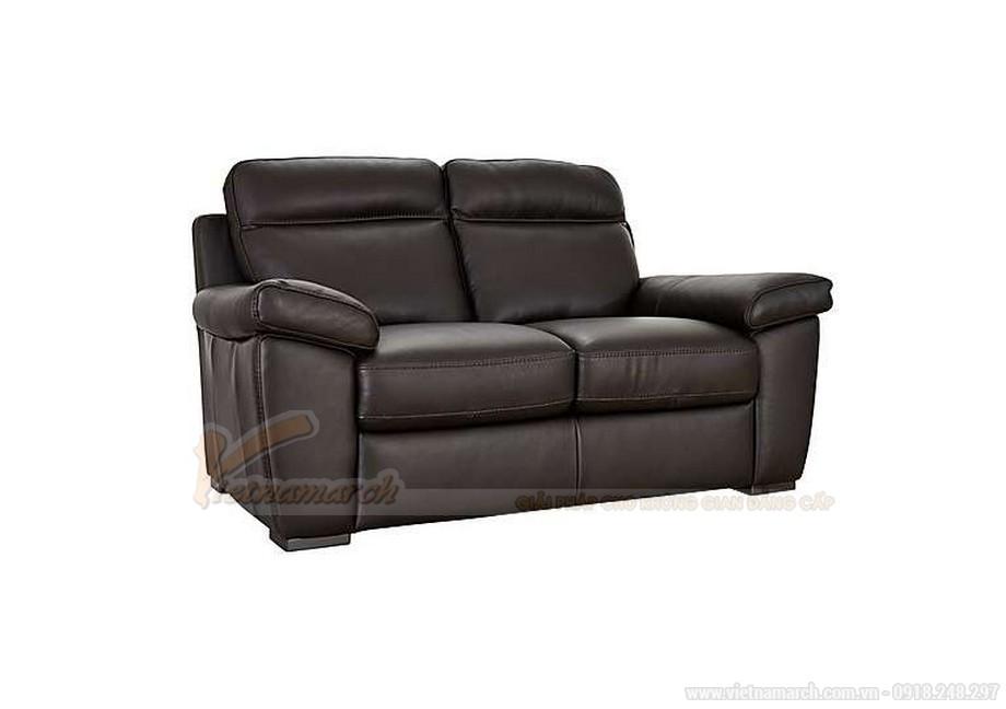 Ghế sofa văng chất liệu da hai vị trí ngồi đặc biệt - 02