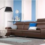 Sang trọng lịch lãm với mẫu ghế sofa da văng Mã: SDV – 024