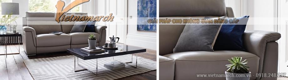 Mẫu ghế sofa da văng cho phòng khách thanh lịch -01