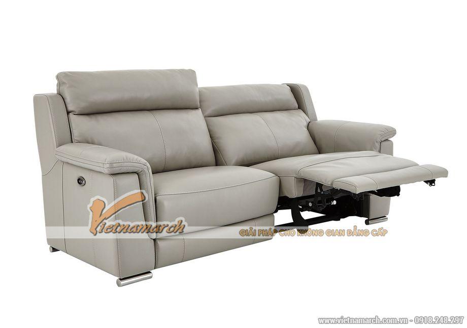 Mẫu ghế sofa da văng cho phòng khách thanh lịch -02
