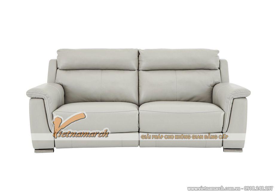 Mẫu ghế sofa da văng cho phòng khách thanh lịch -04