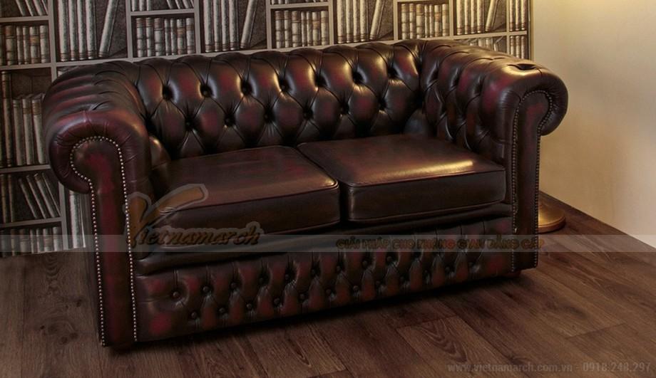 Mẫu ghế sofa da văng cổ điển sang trọng và đẳng cấp - 03