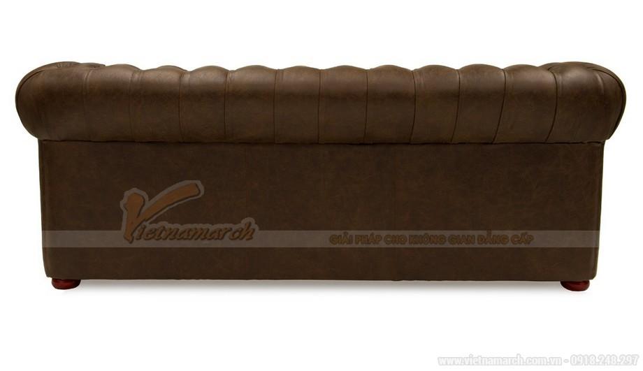 Mẫu ghế sofa da văng cổ điển sang trọng và đẳng cấp - 05