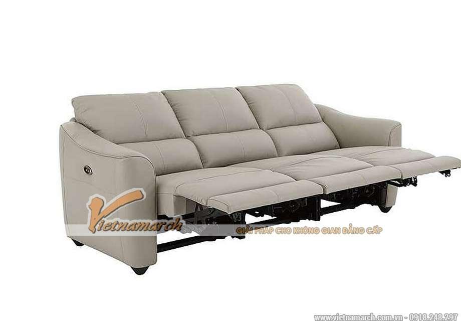 Mẫu ghế sofa da văng đa tính năng phong cách hiện đại - 02