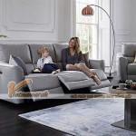Mẫu ghế sofa văng bọc da đa tính năng phong cách hiện đại – Mã: SDV-062