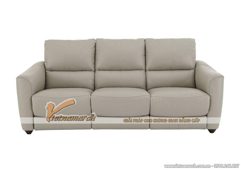 Mẫu ghế sofa da văng đa tính năng phong cách hiện đại - 04