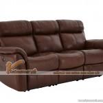 Mẫu ghế sofa da văng lý tưởng cho không gian phòng khách – Mã: SDV-075