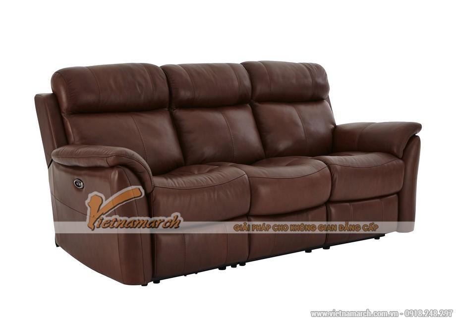 Mẫu ghế sofa da văng lý tưởng cho không gian phòng khách - 02