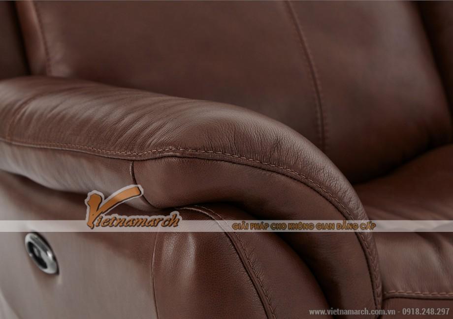 Mẫu ghế sofa da văng lý tưởng cho không gian phòng khách - 04