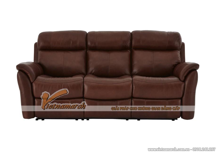Mẫu ghế sofa da văng lý tưởng cho không gian phòng khách - 03