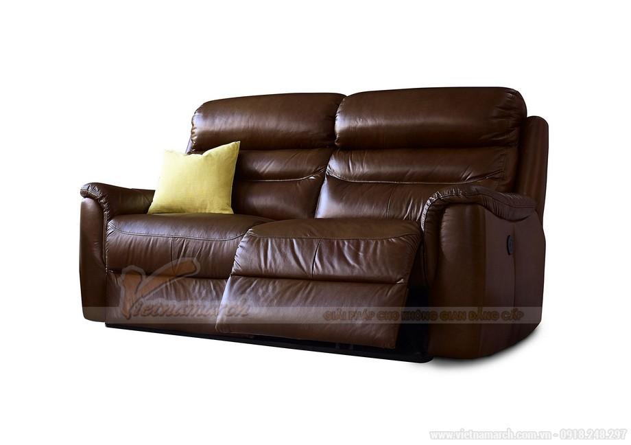Mẫu ghế sofa da văng nhập khẩu Ấn Độ - 04