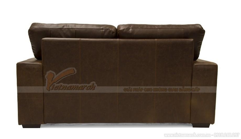 Mẫu ghế sofa da văng phong cách tân cổ điển sang trọng - 07