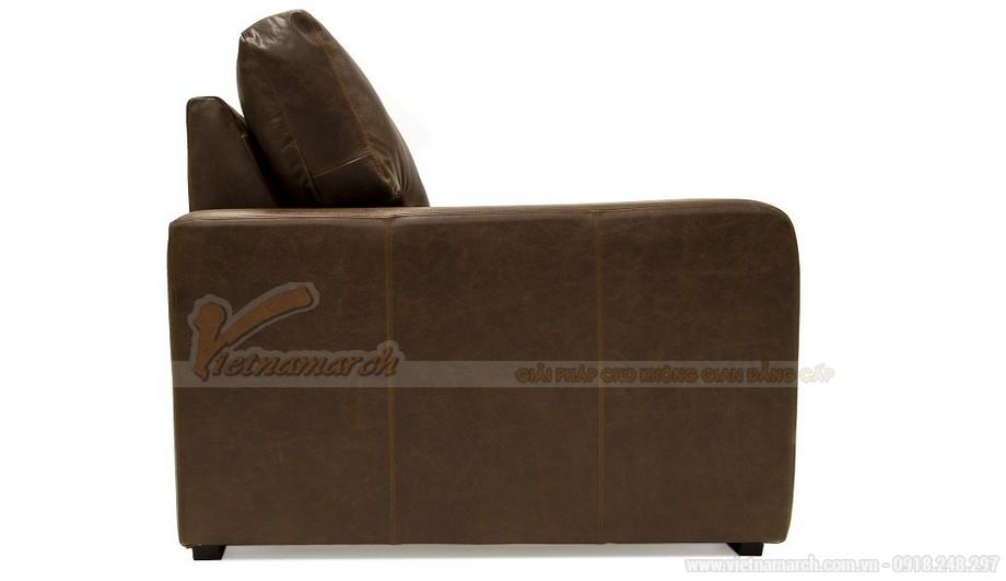Mẫu ghế sofa da văng phong cách tân cổ điển sang trọng - 08
