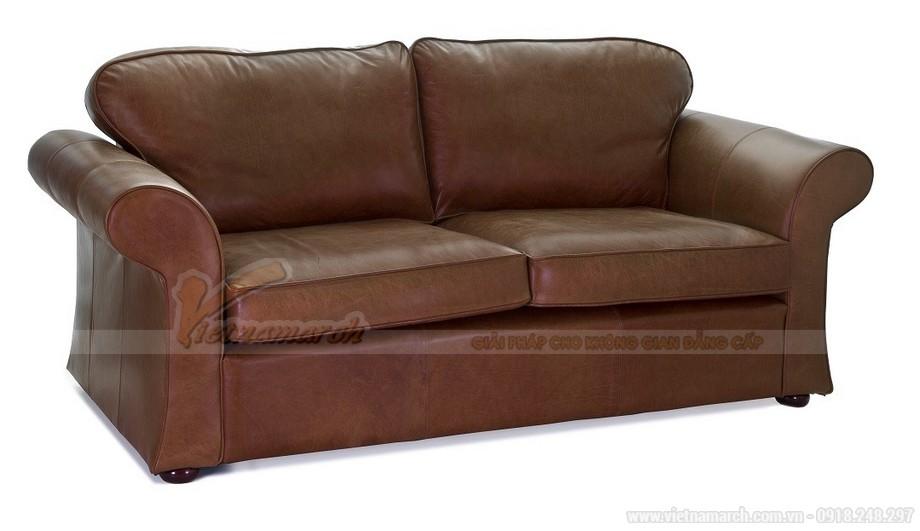 Mẫu ghế sofa da văng tân cổ điển đa chức năng - 06