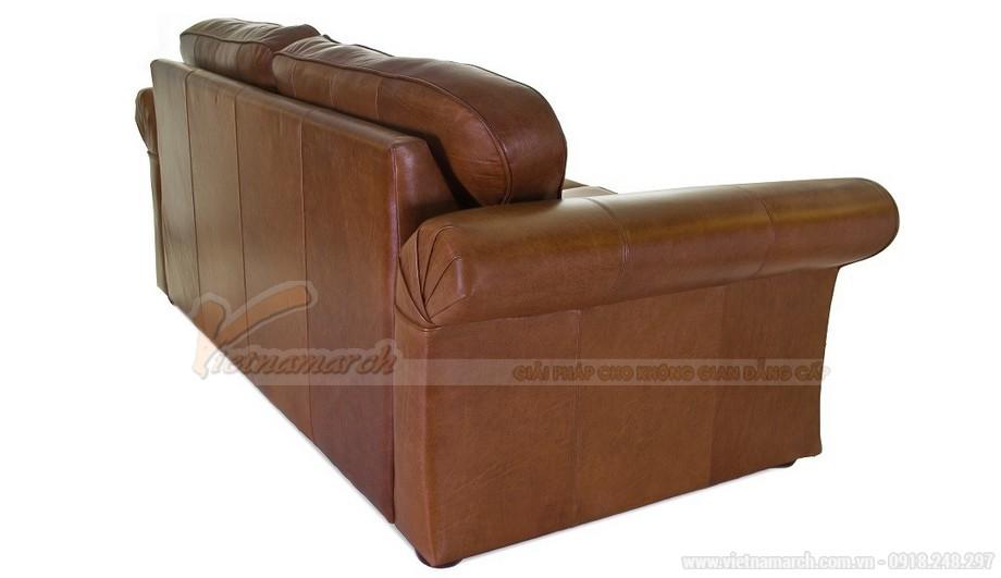 Mẫu ghế sofa da văng tân cổ điển đa chức năng - 04
