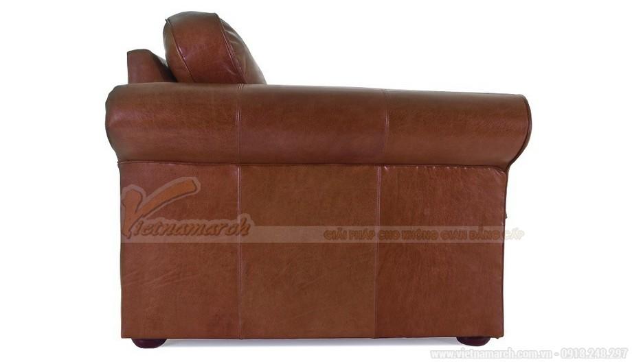 Mẫu ghế sofa da văng tân cổ điển đa chức năng - 05