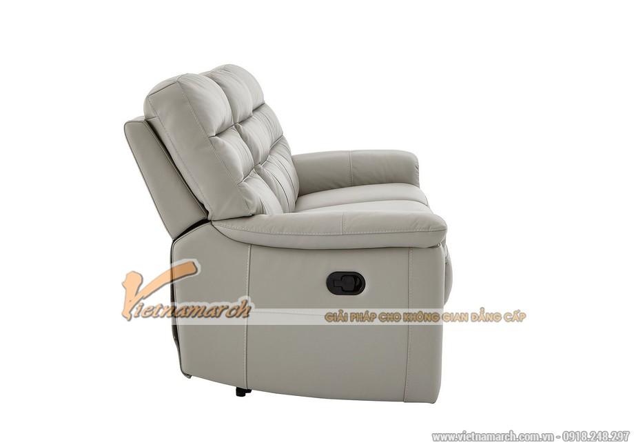 Mẫu ghế sofa da văng thông minh cho không gian phòng khách - 02