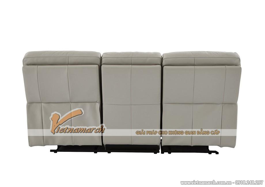 Mẫu ghế sofa da văng thông minh cho không gian phòng khách - 04
