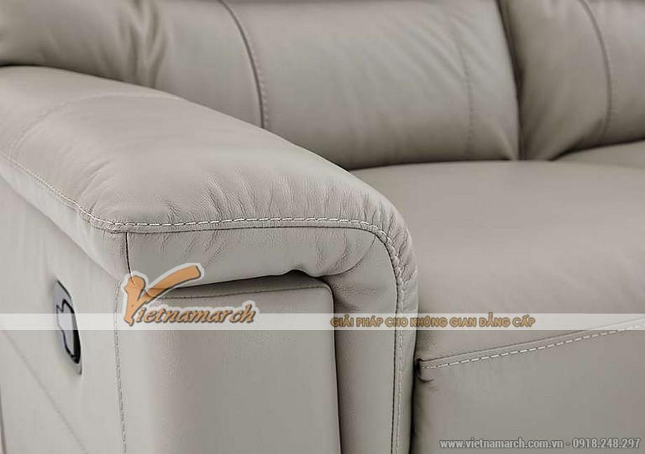 Mẫu ghế sofa da văng thông minh cho không gian phòng khách - 07