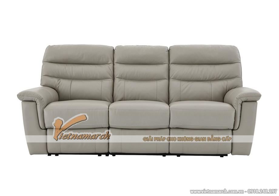 Mẫu ghế sofa da văng thông minh cho không gian phòng khách - 03