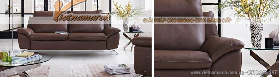 Mẫu ghế sofa văng xinh xắn cho không gian phòng khách - 01