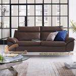 Mẫu ghế sofa văng bọc da xinh xắn cho không gian phòng khách – Mã: SDV-061