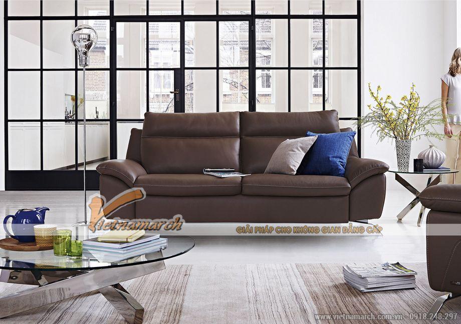Mẫu ghế sofa văng xinh xắn cho không gian phòng khách - 06