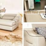 Mẫu ghế sofa góc chất liệu da American đẳng cấp – Mã: SDG-058